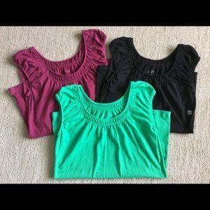 Lot of 3 Ann Taylor LOFT Shirts Sz XS NEW